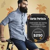Delineado de barba