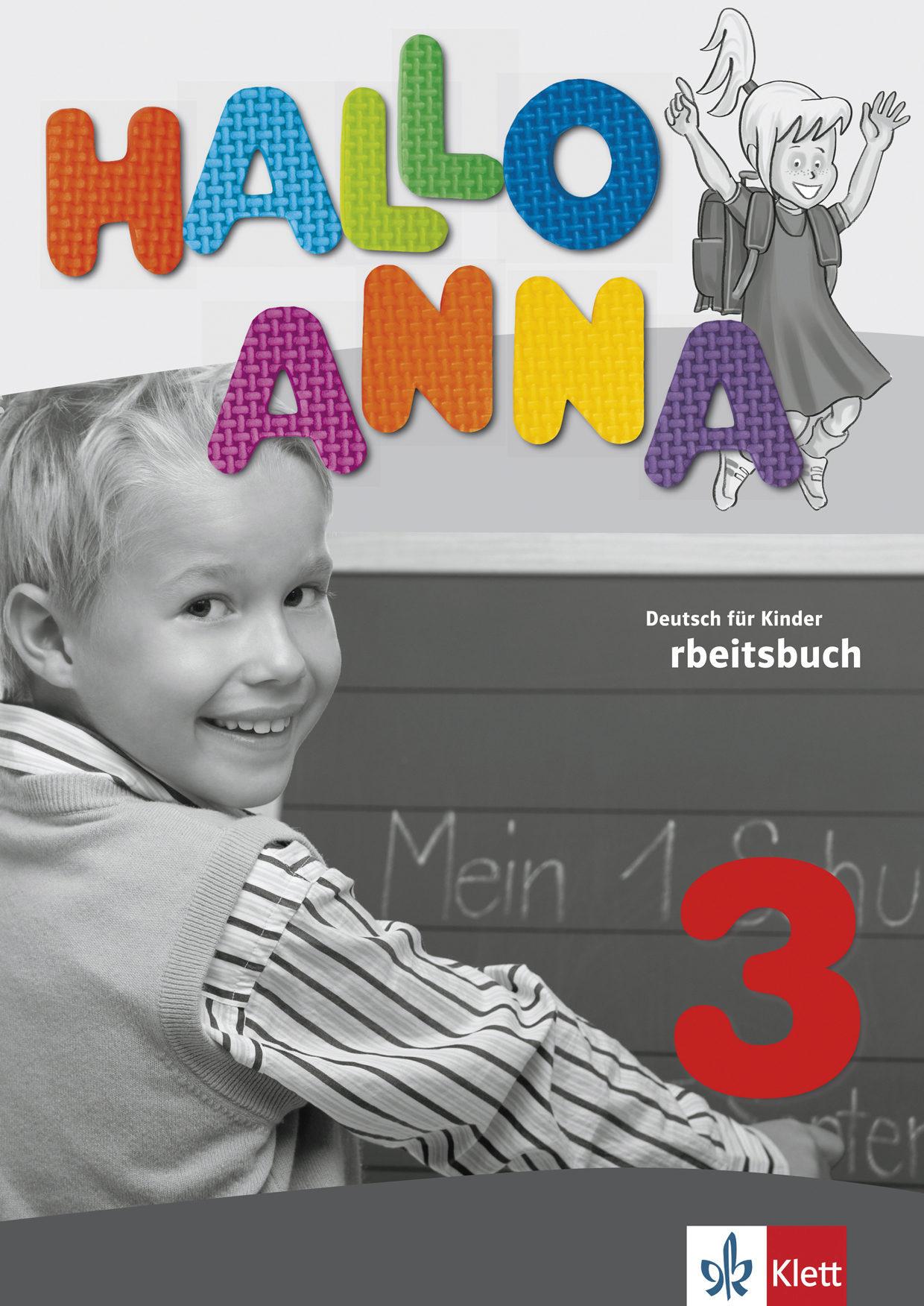 3º/4ºEP ALEMÁN HALLO ANNA 3 - ARBEITSBUCH