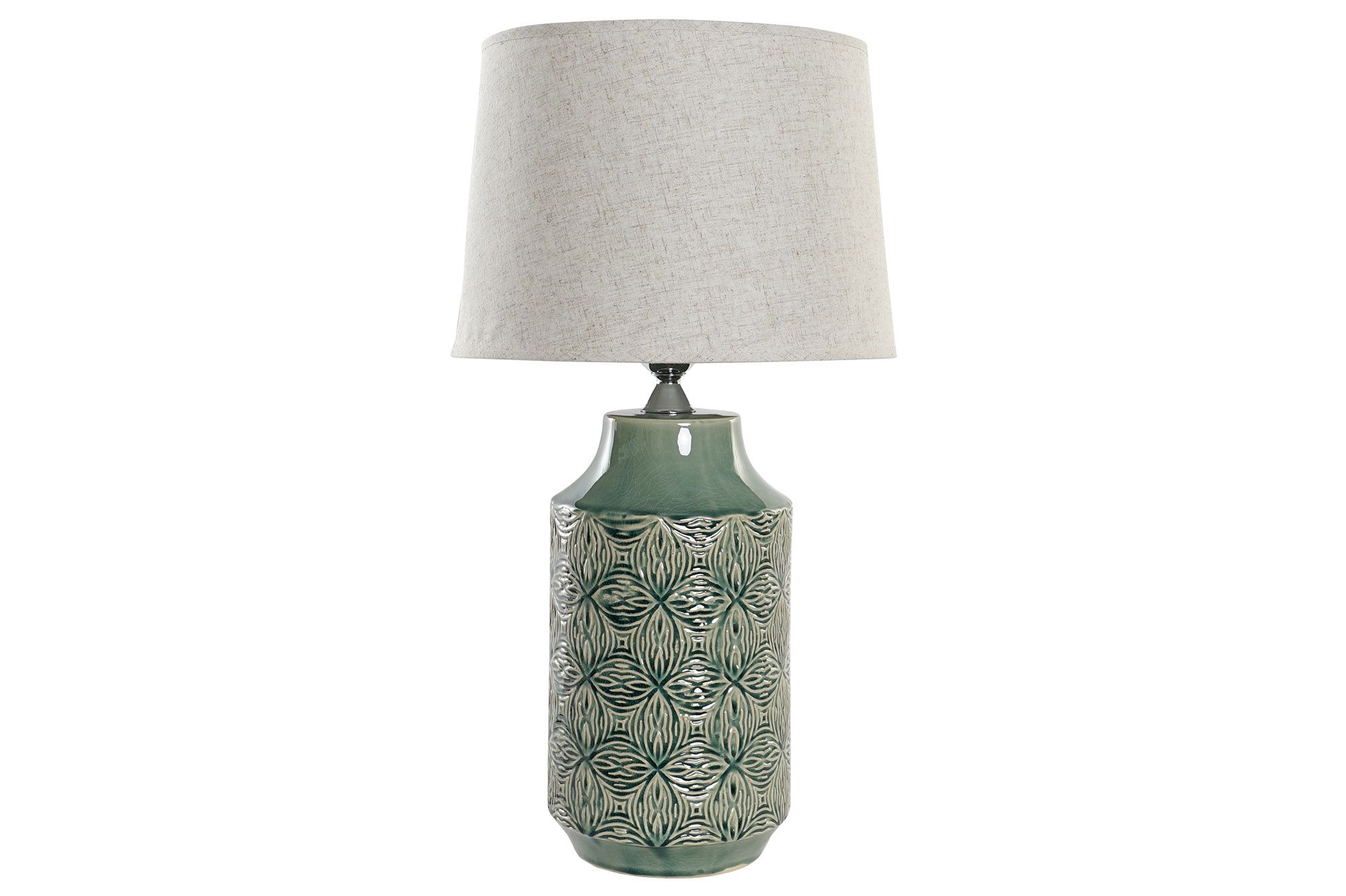 LAMPARA SOBREMESA VERDE 32X60