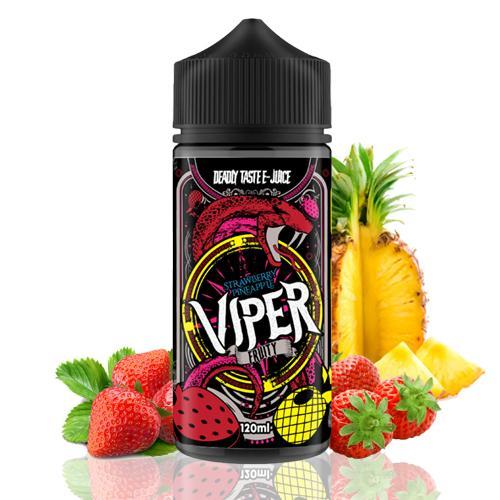 Strawberry Pineapple 100ml - Viper Fruity