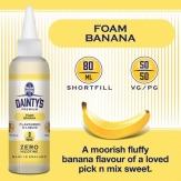 Dainty's Premium Foam Banana 80ML
