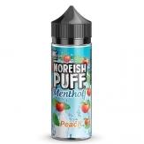 Menthol Peach 100ml - Moreish Puff