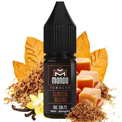Classic Blend 10ml - Mondo Nic Salts