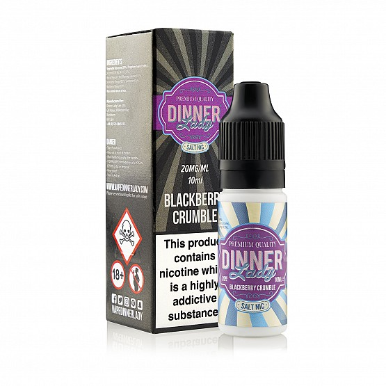 Blackberry Crumble (Nic Salt) 10 ml 20mg - Dinner Lady