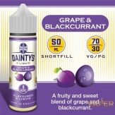 Grape & Blackcurrant 50ml - DAINTY´S