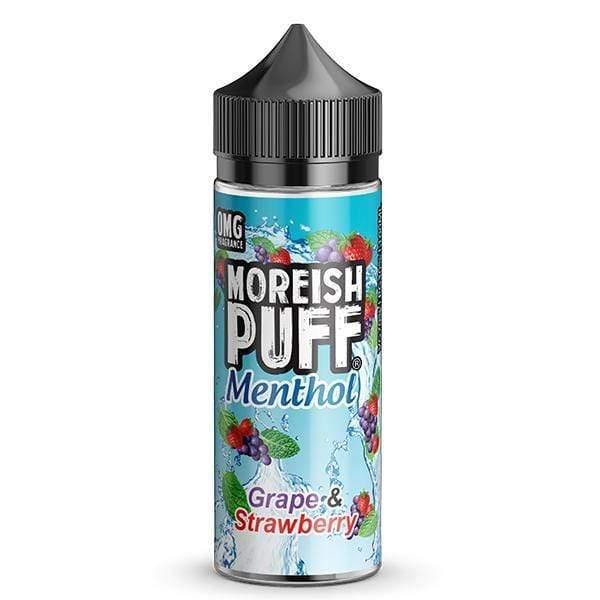 Menthol Grape and Strawberry 100ml - Moreish Puff