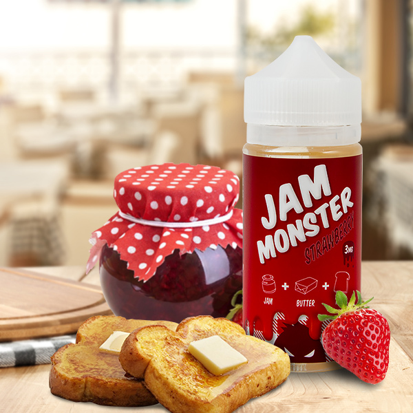 STRAWBERRY  80 ML - JAM MONSTER