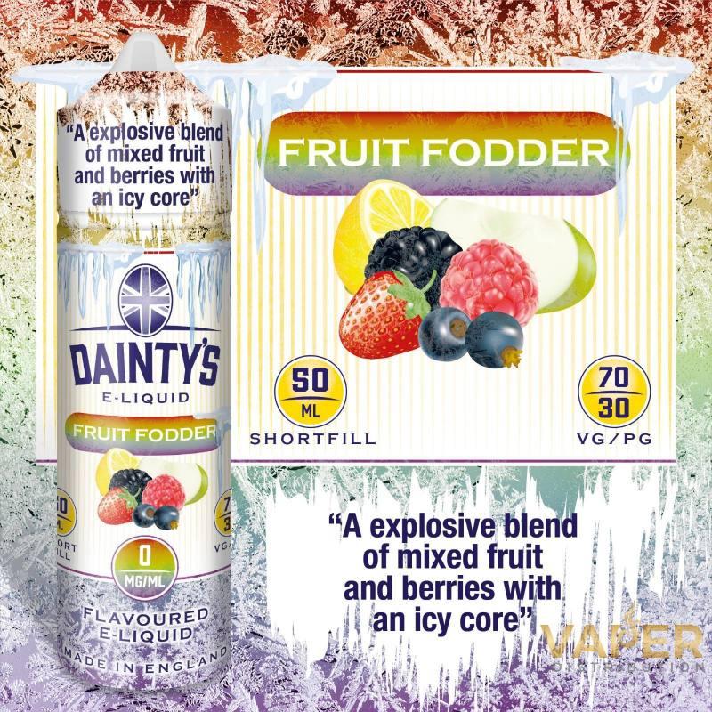 Ice Fruit Fodder 50ml - DAINTY´S