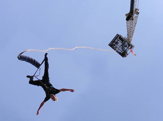 Bungee Jumping for my Gdansk Stag Do | Maximise Stag Weekends