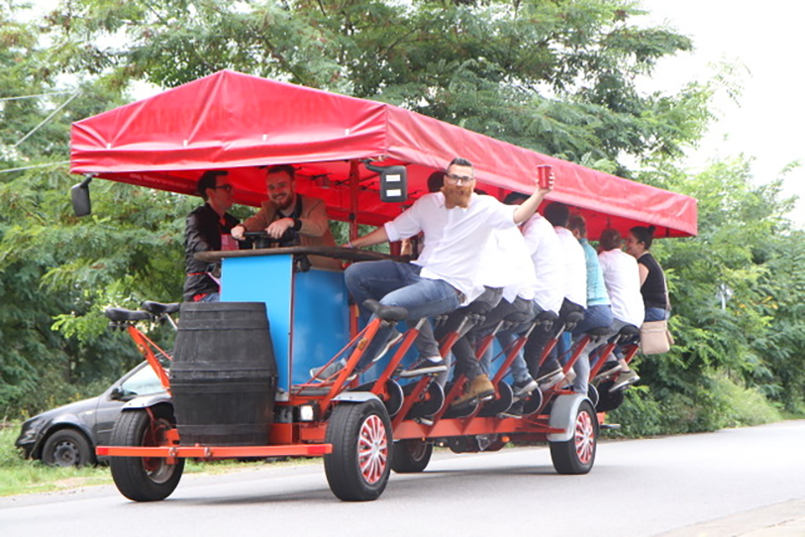 Boozy Beer Bike for my Hamburg Stag Do | Maximise Stag Weekends