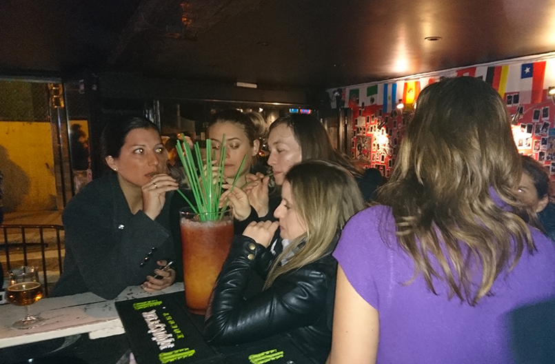 Bar Crawl & Challenges