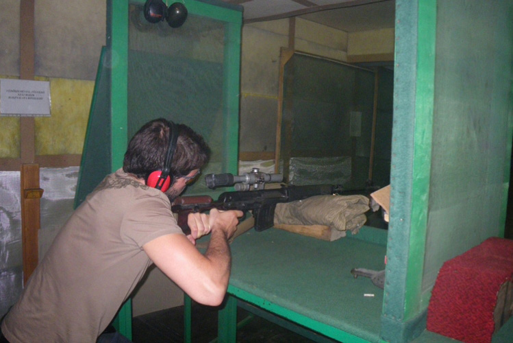 Enterrement de Vie de Garçon à Budapest Crazy-evG Shooting