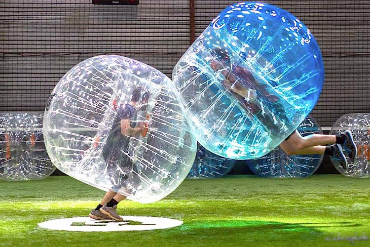 Bubble Football for my Stuttgart Hen Party | Maximise Hen Weekends