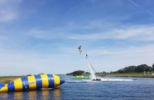 Blob jump à Montpellier avec Crazy EVG