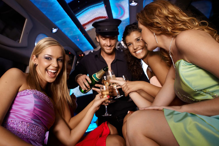 Budapest, Maximise Hen Weekends, Cadillac Limo with Strip