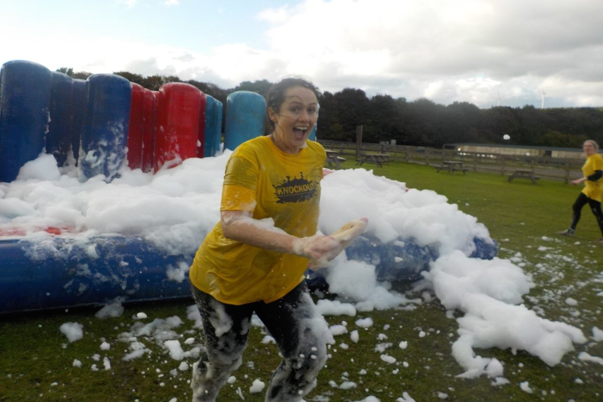 Its a Knockout London for your hen weekend with hen Maximise