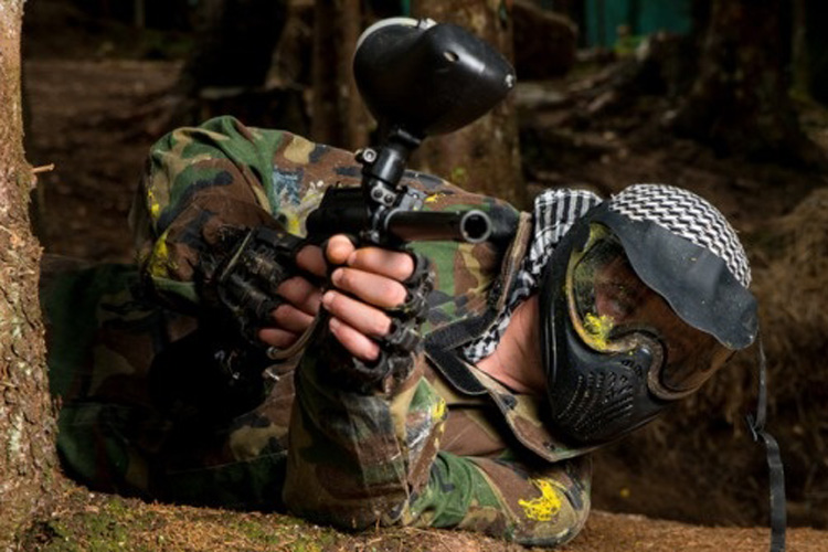 Outdoor Paintball for my London Stag Do | Maximise Stag Weekends