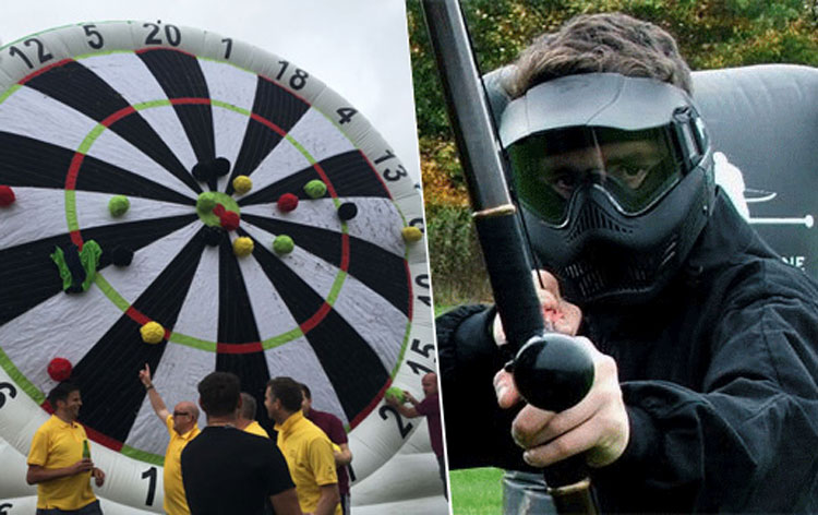 Combat Archery & Footdarts  for my Bristol Stag Do | Maximise Stag Weekends