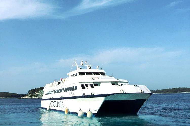 Catamaran transfers from Split to Hvar for my Hvar Hen Party | Maximise Hen Weekends