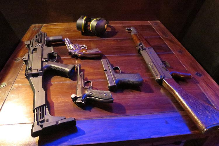 AK47 & Shotgun Shooting Package