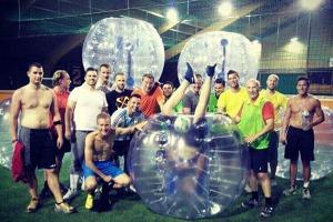 Bubble Ball für meinen JGA in Varsovie | Junggesellenabschied