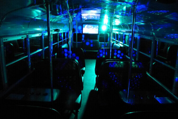 Party Bus with Food Newcastle for your stag weekend with stag Maximise