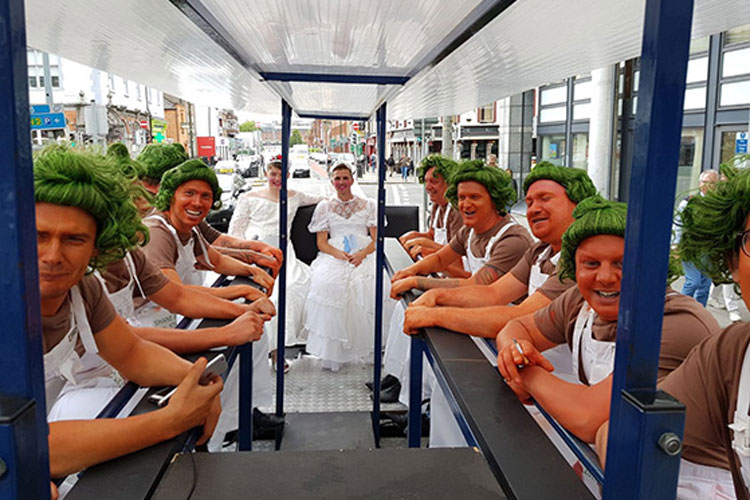 Beer Bike Bar Crawl for my Dublin Stag Do
