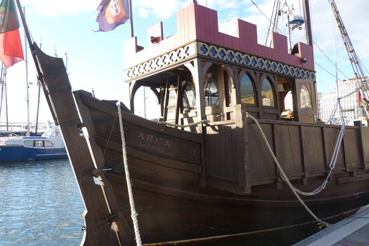 Navire Traditionnel pour mon EVJF à Lisbonne