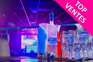 Enterrement de Vie de Garçon Strasbourg Crazy EVG Boite VIP et bouteille
