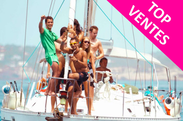 Catamaran Party à Barcelone avec Crazy EVG