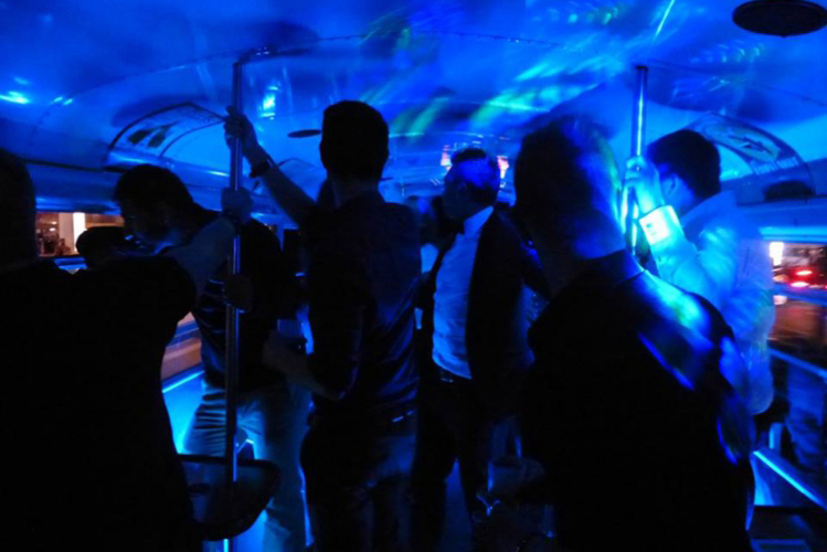 Party Bus Transfer for my Stuttgart Hen Party | Maximise Hen Weekends