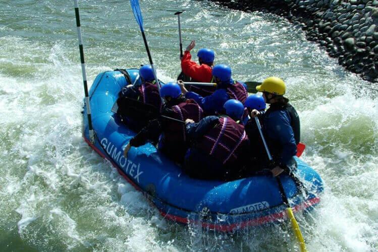 Rafting Valencia hen do Maximise