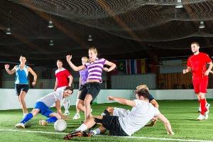 Fußball 5 gegen 5 für meinen JGA in Prague   Junggesellenabschied