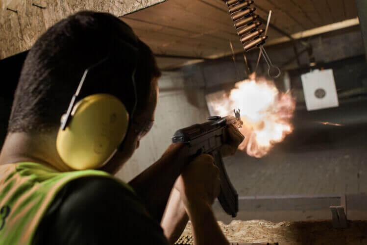 shooting ak-47, shooting arme a feu, glock, shooting kalashnikov, armes, evg, activité enterrement de vie de garçon