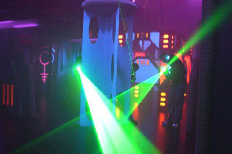 Laser Tag for my Gdansk Hen Party | Maximise Hen Weekends