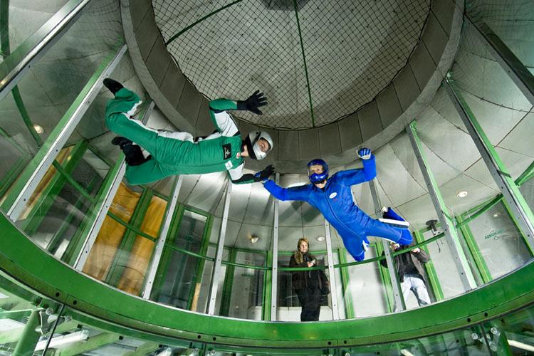 Indoor Skydiving für meinen JGA in Vienne | Junggesellenabschied