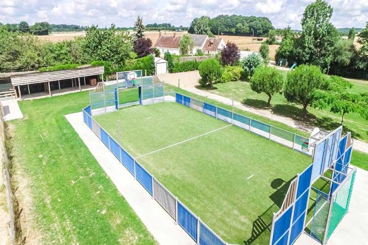 EVG Villa Luigny terrain multisports