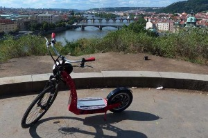 Visite E-Scooter pour mon crazy week-end à Prague