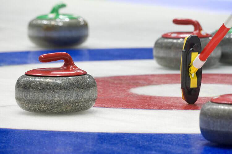 Curling für meinen JGA in Vienne | Junggesellenabschied