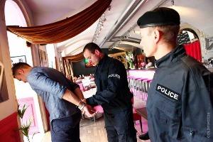 Fausse arrestation à Prague EVG