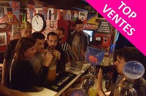 Enterrement de Vie de Jeune Fille Paris Crazy EVJF Tournée des bars et défis