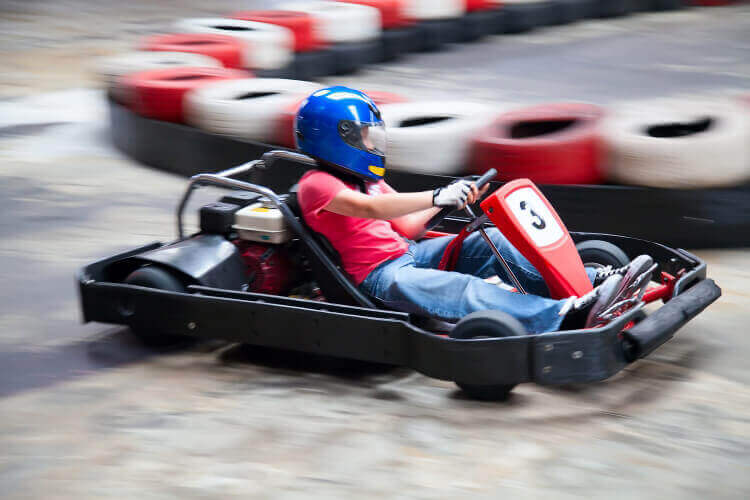 Karting for my Gdansk Hen Party | Maximise Hen Weekends