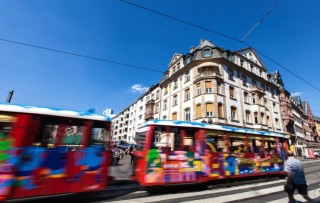 Crazy Tram für meinen JGA in Frankfurt, Germany | Crazy-JGA