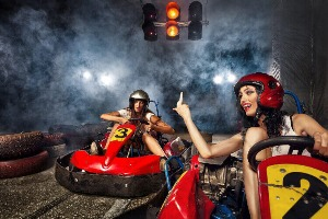 Kartfahren für meinen JGA in Milan | Junggesellenabschied