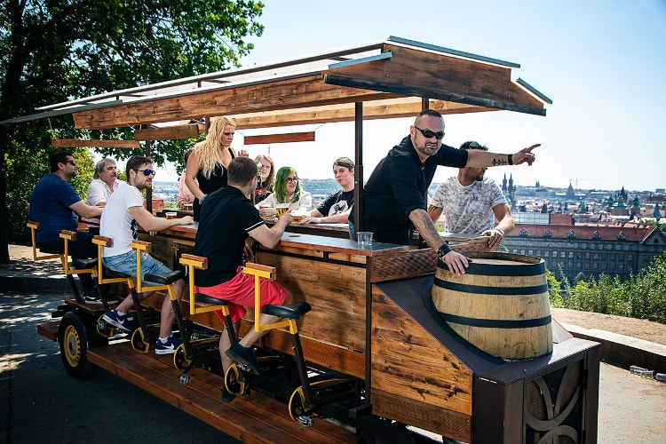 Stag do Prague, Stag do ideas Prague, Stag party, Stag party ideas, Stag party activities, Stag do ideas, Stag do activities Prague, Stag weekend activities, Stag weekend ideas, Maximise Stag weekends, Stag do, dinner for a stag party in Prague, Beer Bike, Beer Bike Prague