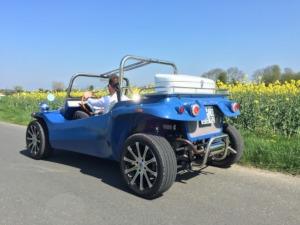 Enterrement de vie de jeune fille Crazy EVJF Deauville Balade en buggy