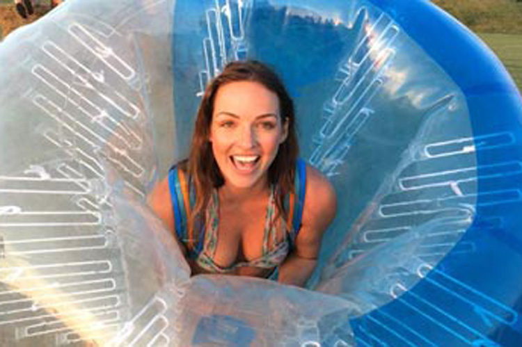 Bubble Football for my Cologne Hen Party | Maximise Hen Weekends