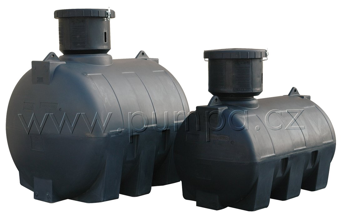 Elbi CHU-1000 plastová retenční nádoba (d.1720mm v.1415mm Ř915mm)