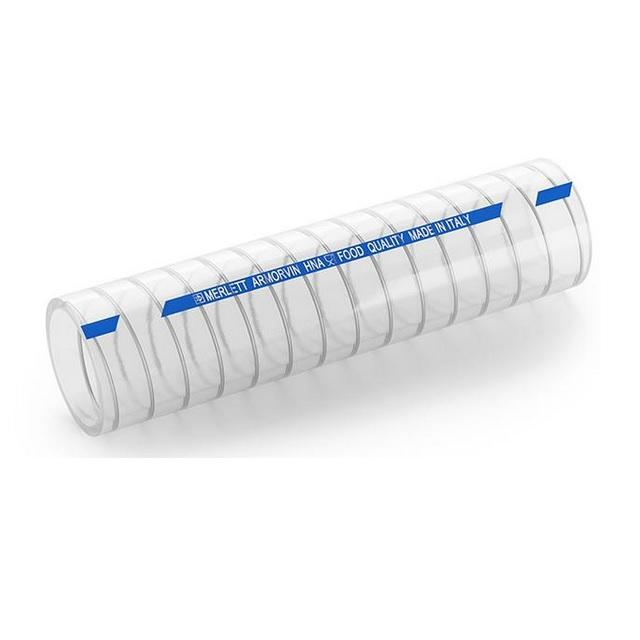DRINKTEC METAL - transparentní tlaková a sací hadice 32/40