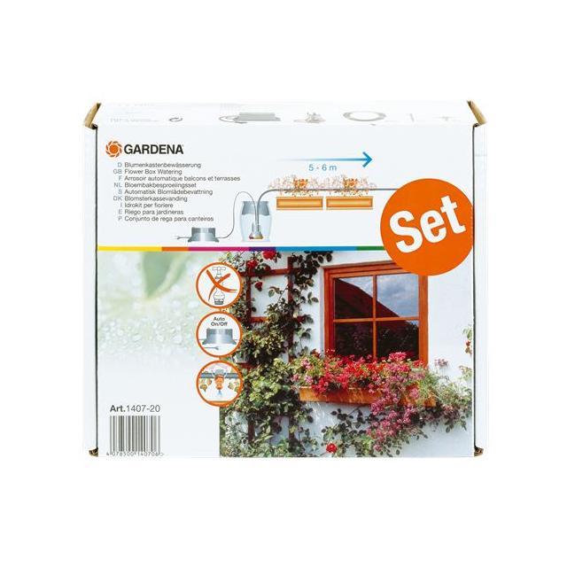 Gardena Automatické zavlažování pro 5-6m květinových truhlíků